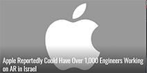 默默搞个大新闻 苹果集结1000名工程师专攻AR领域