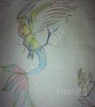自创精灵手绘---天海碧蓝