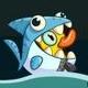 鳄鱼小顽皮爱洗澡2鲨鱼鸭