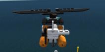 乐高我的城市直升机怎么加油