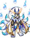 龙斗士九尾银狐