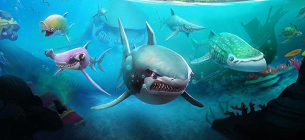 饥饿鲨世界3D新手攻略 饥饿鲨世界3D怎么玩