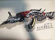 生死狙击玩家手绘-魔龙骑士手绘