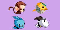 目前推出的四种宠物,你更喜欢哪一个?
