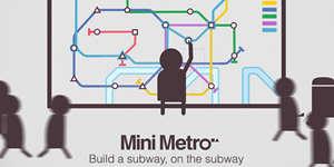用纯色和多边形构建交通网络 《迷你地铁》10月20日上架双平台(双平台已上架)