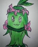 卡布手绘―草花仙