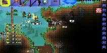 泰拉瑞亚永久日食存档 手机版地图存档下载