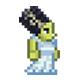 泰拉瑞亚科学怪人新娘服装