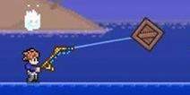 泰拉瑞亚鱼竿怎么用 鱼饵怎么用