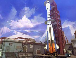 枪火战神火箭基地即将开启 场景截图曝光