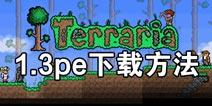 泰拉瑞亚1.3pe在哪下 1.3pe版下载