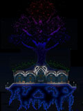 泰拉瑞亚浮空生命树建筑图纸 浮空生命树设计图纸
