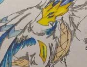 西普大陆精美手绘 银蓝之翼