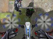 生死狙击游戏截图-骑着无人机去旅行
