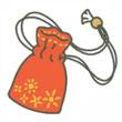 青蛙旅行红色护身符