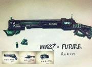 生死狙击玩家手绘-M1887