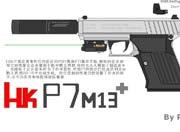 生死狙击P7警用手枪