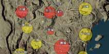 绝地求生刺激战场沙漠地图资源分布 刺激战场激情沙漠资源哪里最多