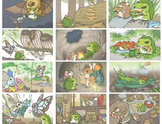 旅行青蛙稀有明信片大全 稀有明信片怎么得