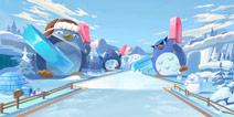 QQ飞车手游冰雪企鹅岛怎么跑 冰雪企鹅岛赛道捷径解析