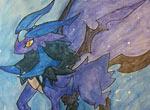 赛尔号手绘 我的飞镰精灵