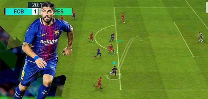 《实况足球》手游创新操控模式,与你约战绿茵