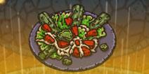 黑暗料理王仙人掌沙拉怎么做 仙人掌沙拉皇冠配方攻略