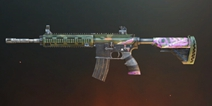 绝地求生刺激战场M416紫色赛博朋克皮肤怎么样 刺激战场枪械皮肤大全