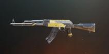 绝地求生刺激战场AKM黄色极简皮肤怎么样 刺激战场枪械皮肤大全