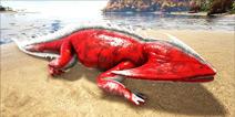 方舟生存进化笠头螈可以驯服吗 手机版笠头螈属性和分布