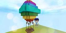 迷你世界热气球怎么做 七彩热气球制作方法