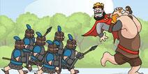 皇室战争趣图分享 搞笑画作欢乐多