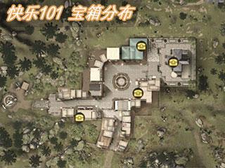明日之后快乐101宝箱位置分布 快乐101地图资源探索位置