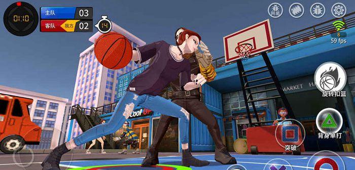 篮球场上的格斗《潮人篮球》搓招玩法解密