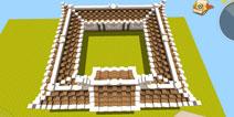迷你世界古风庭院围墙建造教程 中国风建筑怎么搭