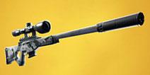 堡垒之夜手游消音狙击枪资料曝光 或将在V7.10版本进入游戏