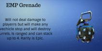 堡垒之夜EMP手榴弹?玩家创意新武器概念