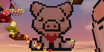 迷你世界新年猪猪跑