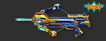 火线精英双发短弩-晶蓝