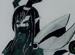 赛尔号手绘 恶灵魅影小姐姐