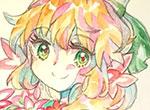 赛尔号手绘 春季少女茉蕊儿
