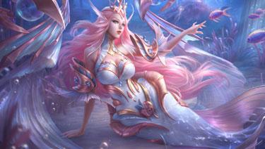 王者荣耀海洋之心星元皮肤特效展示 粉色幻海之心即将来袭