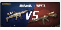 和平精英SCAR-L挑战M416
