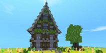 迷你世界搭建西方风格小别墅