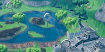 堡垒之夜4号芯片在哪里 可在战利湖上空的环找到