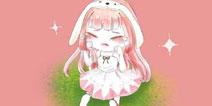 迷你世界手绘 兔美美哭唧唧