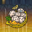 黑暗料理王柠檬椰子球