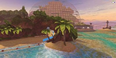 《一起来飞车2》地图爆料「侏罗纪研究所」赛道