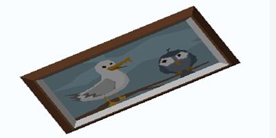 艾兰岛《滑稽的小鸟》