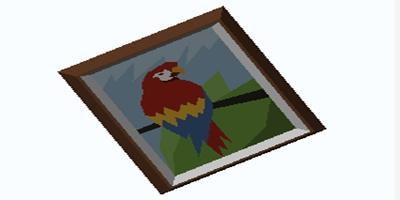 艾兰岛《红色鹦鹉》